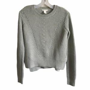 H&M Womens Knit Crew Neck Sweatshirt
